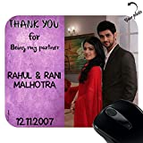 Personalized Thank You Rectangle Mouse P...