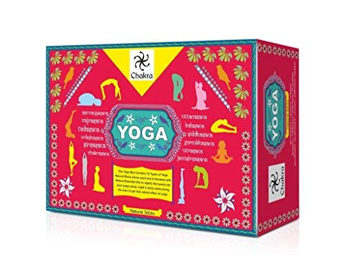 Chakra Yoga Natural Mano Incienso diseño - 12 fragancias
