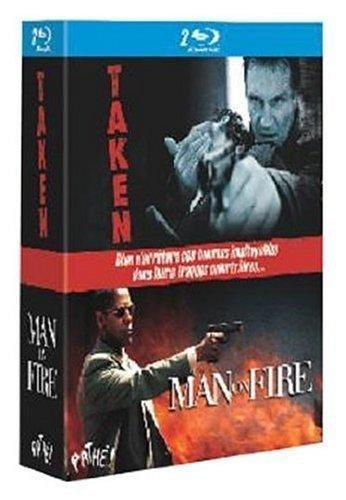 Taken ; man on fire [Blu-ray] [FR Import]