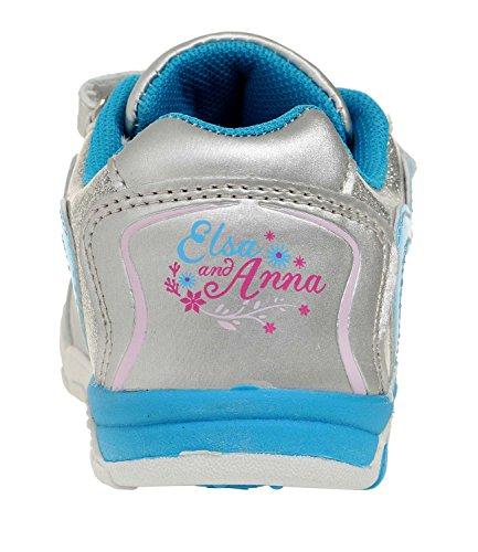 Disney Die Eiskönigin Elsa & Anna Mädchen Sneaker 2016 Kollektion - blau Blau