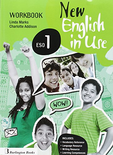 New English In Use ESO 1 Workbook + Language Builder por Varios autores