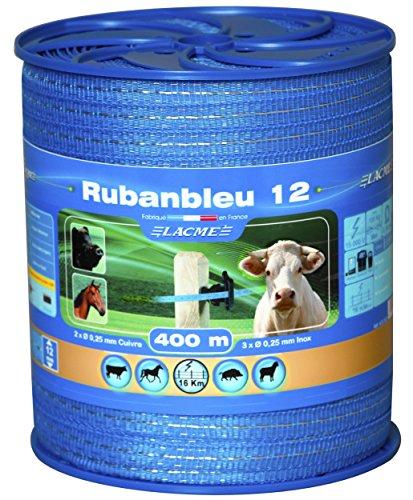 Ruban bleu 12mm 400m bobine
