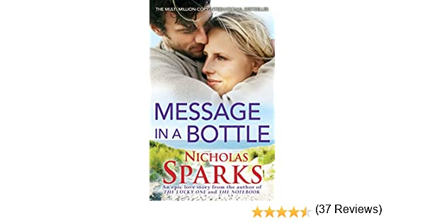 Message in a bottle ebook nicholas sparks at amazon fandeluxe Epub