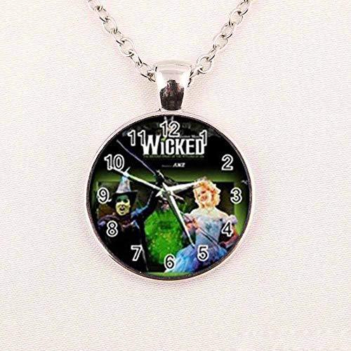 Runde Glashalskette Hexenkette Zauberer von OZ Wicked Hexe Halskette Art Glas Halskette