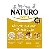 Naturo Wet Puppy Food Chicken & Rice with veg 150g (Pack of 10)