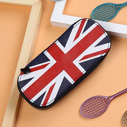 Gaddrt creative bandiera nazionale di matita tasca tela trousse scuola forniture gift–19.5x 8.5x 4cm b