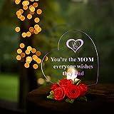 Giftgarden Mama LED Herzform Deko Happy Mutter - 5