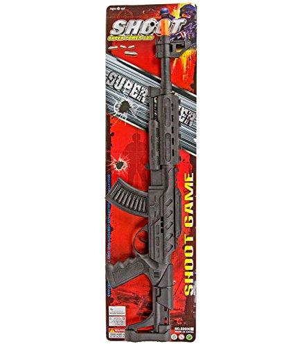 Gewehr XXL Kinder Spielzeug Waffe Ratter mit tollem Sound 67cm Kostüm Soldat Army (Kinder Spielzeug Soldaten Kostüme)