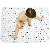 KINGSEVEN Pure Ecological Cotton Diaper Changing Pads Mats For Baby