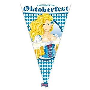 Folat Oktoberfest Megawimpel - Jarra de Cerveza (90 x 150 cm)