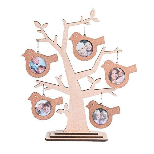 Giftgarden Cadre Photo Bébé à Poser en Forme D' arbre pour les Famille Pele Mele Photo