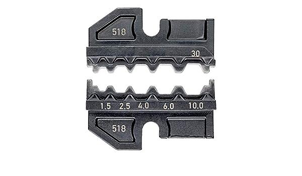 KNIPEX 97 49 30 Profil de sertissage pour prolongateurs non isol/és