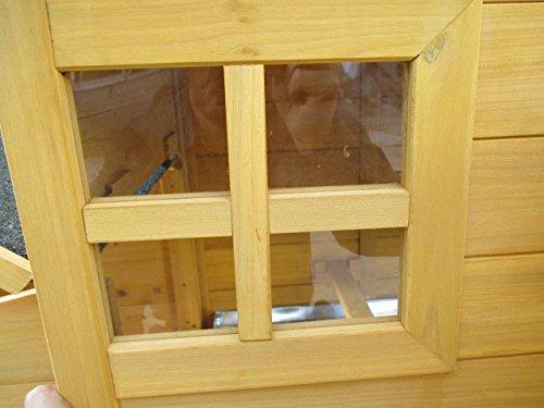 Dobar – Hühnerhaus 24001FSC mit Freigehege auf 2 Etagen - 8