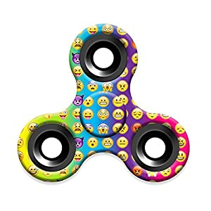 Emoji Fidget Spinner,Omiky® EDC Tri Hand Spinner Finger Groy Toy for SBDX ADD ADHD Anxiety Autism Suffers