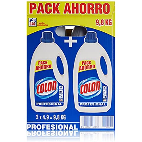 Colon Detergente Liquido Azul Profesional - 9800 g