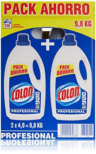 Colon Detergente Liquido Azul Profesional 9,8kg Formato Ahorro