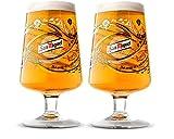 San Miguel 2017Limited Edition Chalice Pint Gläser (Set von 2)