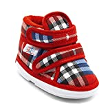 #5: CHIU Chu-Chu Red & Blue Shoes With velcro For 9-12 Months