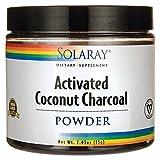 Solaray - Activated Coconut Charcoal Powder - 2.65...