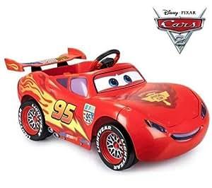 feber voiture lectrique cars ii flash mcqueen 6v jeux et jouets. Black Bedroom Furniture Sets. Home Design Ideas