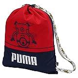 Puma Minions Gym Sack Turnbeutel, Peacoat-Flame Scarlet, OSFA