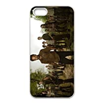 Coque iphone 6 6s Cell Phone Coque-blanc_The-Walking-Dead-04-cast ,Cas De Téléphone