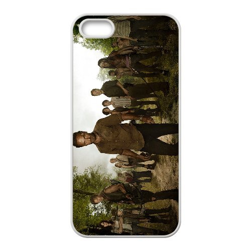 Coque iphone 6 6s Cell Phone Coque-blanc_The-Walking-Dead-04-cast ,Cas De Téléphone, Coques iphone