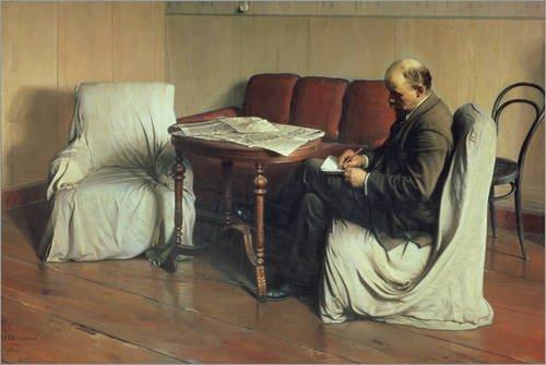 Posterlounge Lienzo 180 x 120 cm: Vladimir Lenin Isaak