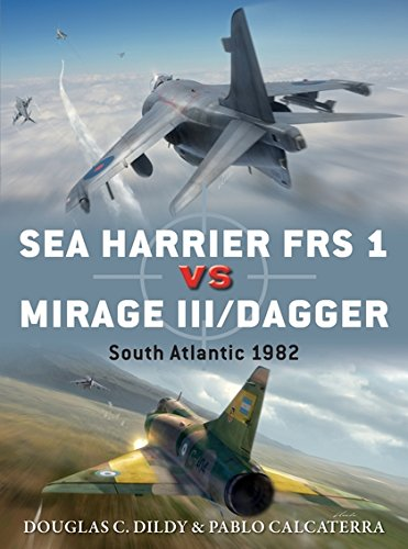 Sea Harrier FRS 1 vs Mirage III/Dagger: South Atlantic 1982 (Duel) por Doug Dildy