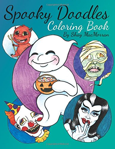 Spooky Doodles: Coloring Book