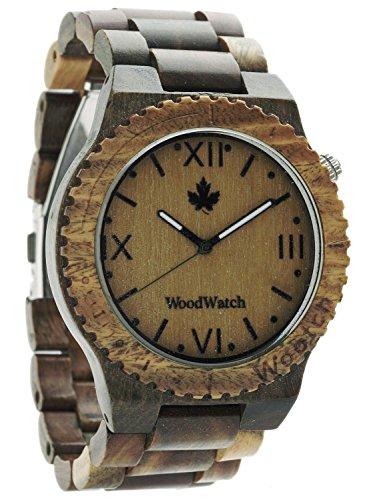 WoodWatch Orologio da uomo wootch-green
