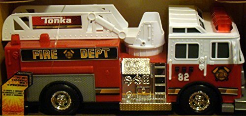Tonka Rescue Force Lights and Sounds 12-inch Ladder Truck - Fire Dept 82 by Tonka (Ladder Fire Truck Spielzeug)