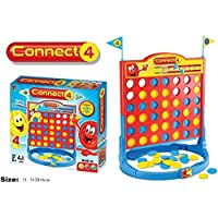 LARGE 4 in a Row, Classic Family Connect Game, Four in a Row Board Game for Kids Family Game
