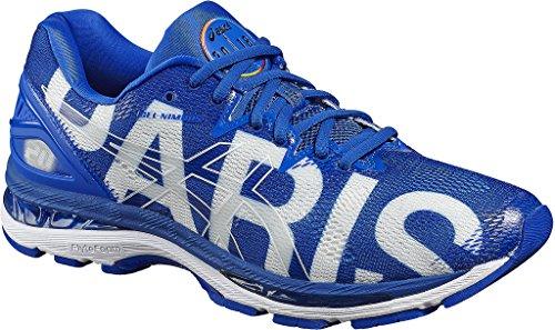 Asics Uomo Gel-nimbus 20 Parigi Maratona Scarpe Da Corsa Multicolore (beige Parigi / Blu 4545)