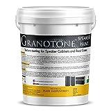#1: GRANOTONE Roller Grade Speaker Cabinet Texture Coating Paint { Black } 5 KG