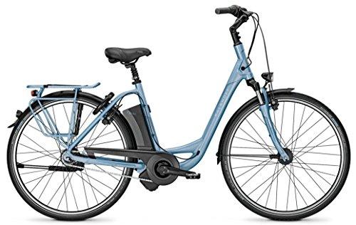Kalkhoff AGATTU IMPULSE 8HS Bicicleta eléctrica, 8G, 17Ah, 36V, 28pulgadas, color azul y verde, color bluem, tamaño 50, tamaño de...
