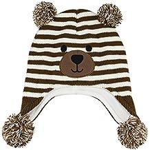 Amazon.es  Gorros De Bebe A Crochet a149657c408