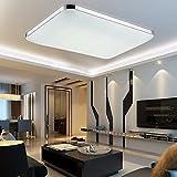 MCTECH 48W Kaltweiß LED Deckenleuchte Modern Deckenlampe Flur Wohnzimmer Lampe Schlafzimmer AC 85V-265V (Kaltweiß)