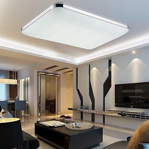 Preisvergleich Produktbild MCTECH 48W Kaltweiß LED Deckenleuchte Modern Deckenlampe Flur Wohnzimmer Lampe Schlafzimmer AC 85V-265V (Kaltweiß)