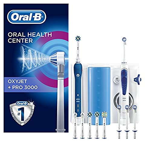 Oral-B Mundpflege Center - OxyJet Munddusche + Oral-B Pro 3000