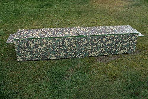 Jagdfallen Steingraf Qualitätsfallen Made in Germany 200cm Fuchsfalle Tierfalle Lebendfalle Deluxe Camouflage Trittbrett#84#