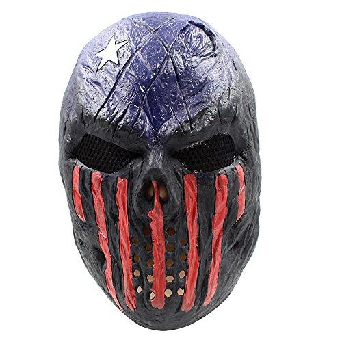 Robber Robby Räuber Bankräuber Gangster Verbrecher Maske mask Kopf aus sehr hochwertigen Latex Material mit Öffnungen an Augen Halloween Karneval Fasching Kostüm Verkleidung für Erwachsene Männer und Frauen Damen Herren (Kostüme Bankräuber)