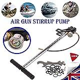 3Stage PCP Air Gun Pumpen Gewehr Füllung Steigbügel Laden Schlauch aufblasbare Bälle AUTO MOTORRAD REIFEN Gas Pumpe