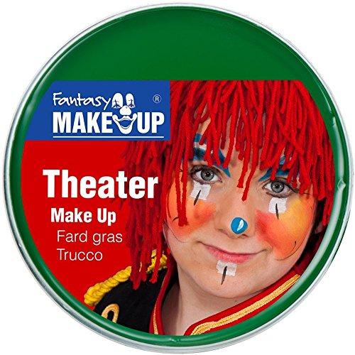 Festartikel Müller Theater Make Up Farbe grün 25 g Fasching Halloween Schminke