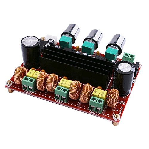 TS Trade TPA3116D2 2x50 Watt + 100 Watt 2,1 Kanal Digital Subwoofer Endstufe (Ts Endstufe)