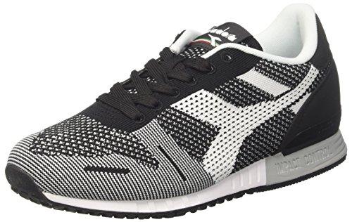 Diadora Titan Weave, Sneaker Uomo, Nero (Nerobianco), 47 EU
