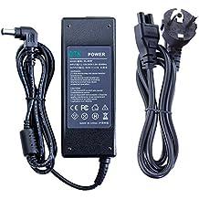 DTK® Computadora portátil Cargador Fuente de alimentación Adaptador Unidad de alimentación para portátil SONY Output: 19.5V 4.7A 90W Cargadore y adaptadore ( compatible con todos SONY 19.5V 4.35A 85W ; 19.5V 3.9A 76W ; 19.5V 3.3A 65W) Conector: 6.5 * 4.4mm