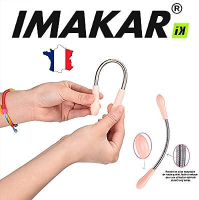 imakar® Muelle de depilación para la depilación facial