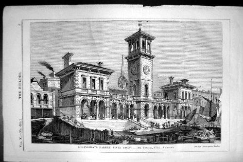 costruttore-1852-di-architettura-di-bunning-della-parte-anteriore-del-fiume-del-mercato-di-billingsg
