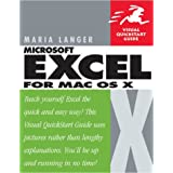 Excel X for Mac OS X Visual QuickStart Guide (Visual QuickStart Guides)